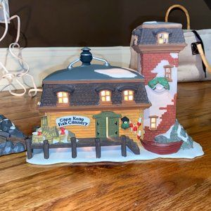 Department 56 New England Cape Keag fish Cannery